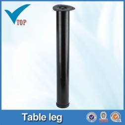 Black steel adjustable table legs VT-02.008