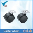 Furniture caster wheel and casters small plastic caster wheels