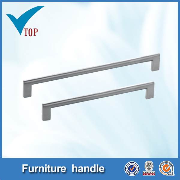 hardware handle satin nickel bar pool