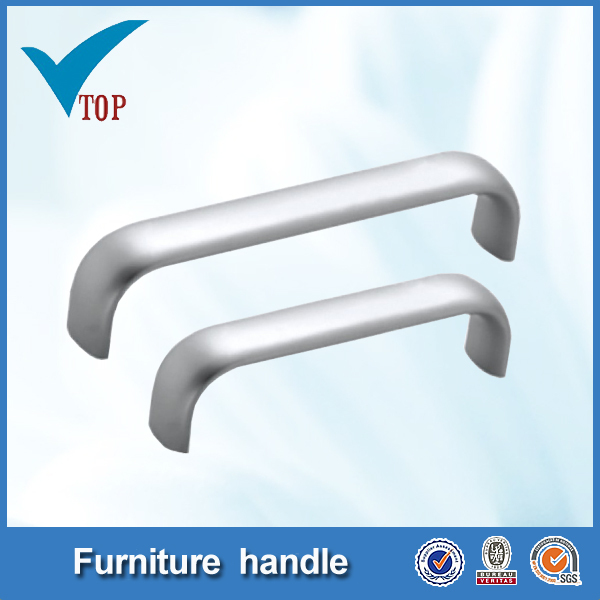 Aluminum furniture concealed cabinet door handle