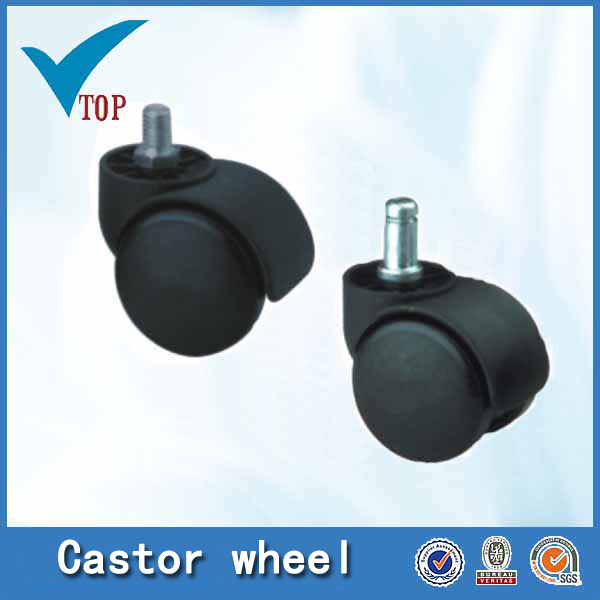 Furniture plastic small furniture caster wheel
