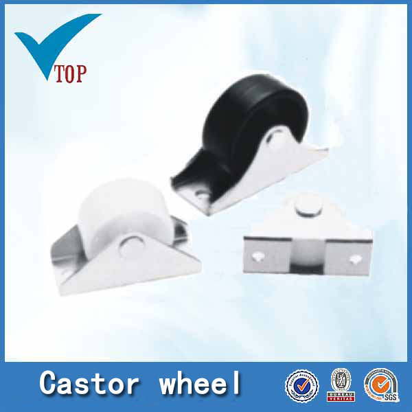 Plastic locking casters swivel caster ball caster