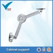 Kitchen cabinet lid support with zinc alloy