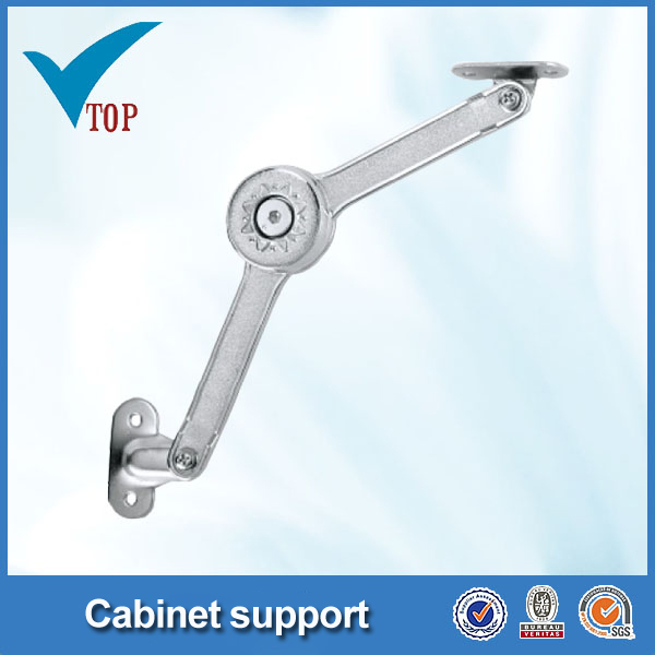 Kitchen cabinet door lid stay support