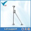 For kitchen friction lid supports