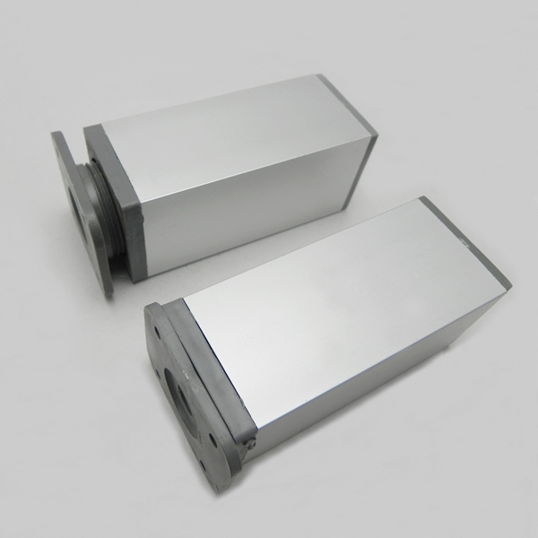 Light metal aluminum sofa legs