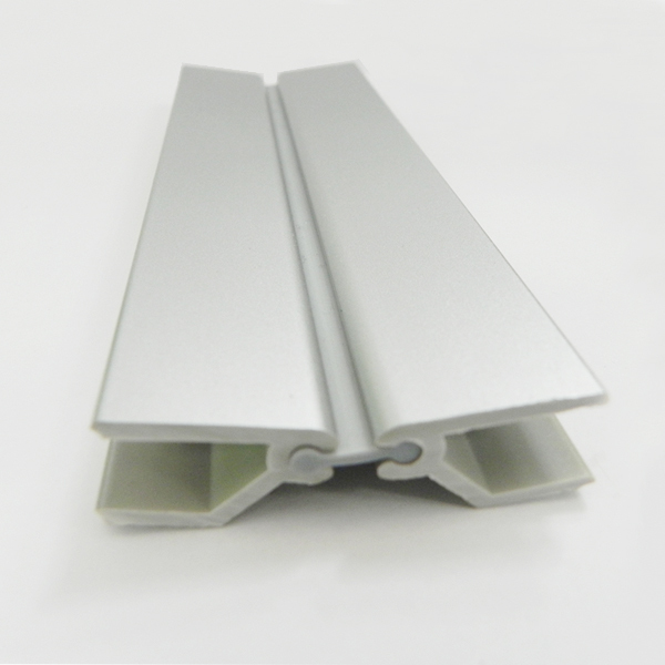 Aluminum skirting board plastic plinth