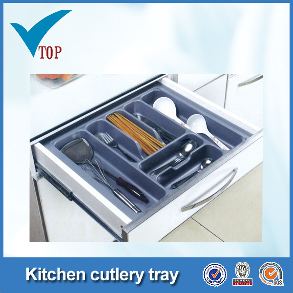 hot sale kitchen cabinet plastic tray