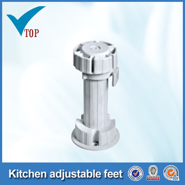 Hot sale plastic kitchen cabinet adjustable legs