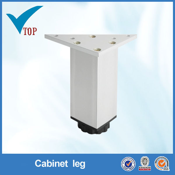 Light adjustable furniture aluminum leg