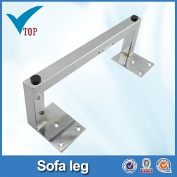 sofa leg metal sofa legs chrome sofa legs veitop hardware rh veitophardware com Sofa Table with Metal Legs Square Metal Cabinet Legs