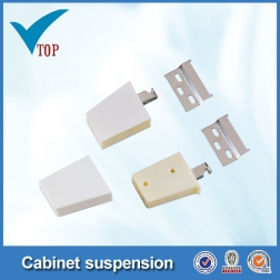 cabinet suspension bracket with white cover