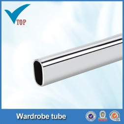 Wardrobe accessories 25mm chrome tube fittings