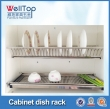 Cabinet hardware stainless steel kitchen rack
