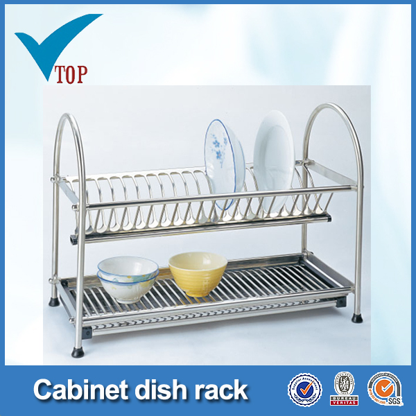 hot sale kitchen stainless steel kitchen disk rack VT-09.003