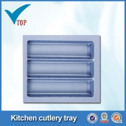 2016 New Latest simply kitchen Plastic Diner Cutlery Trays