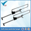 new style for wardrobe telescopic clothes rack ,