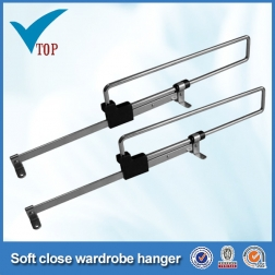 new style for wardrobe telescopic clothes rack ,wardrobe clothes rack