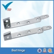 zinc plated folding sofa bed hinge