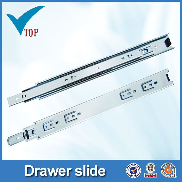 45mm 3 folded office desk drawer slides