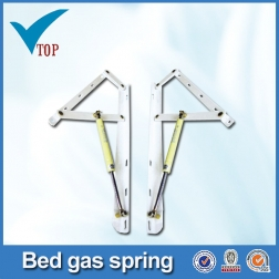 Furniture hardware storage bed frame with gas lift VT-14.006