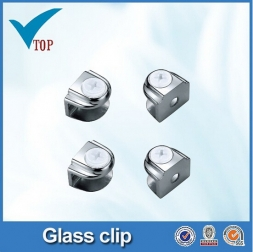 Hot sale small china cabinet glass clips VT-12.029