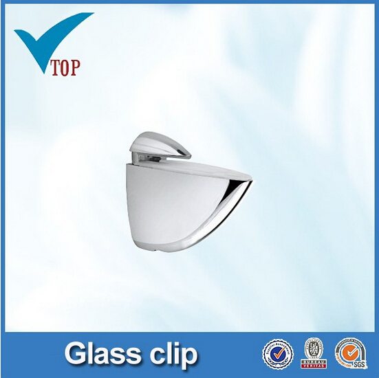 china glass clips for cabinet doors