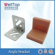 steel angle bracket with hole custom