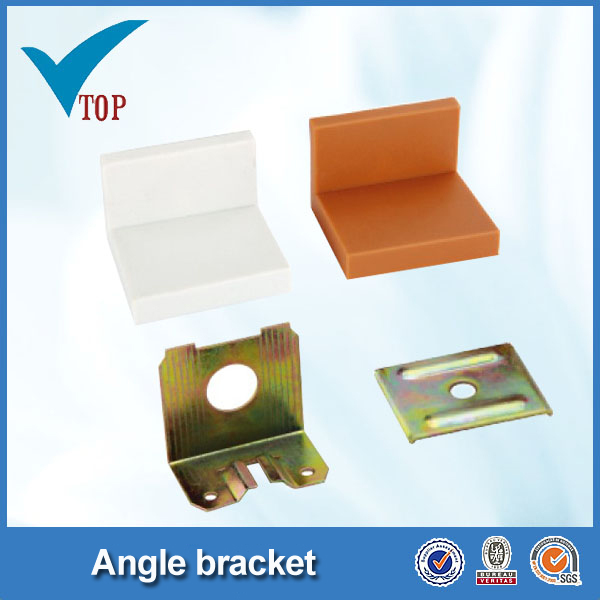 Steel right angle corner brackets