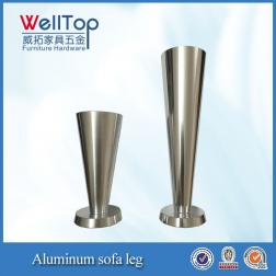 furniture aluminum bed legs sofa legs