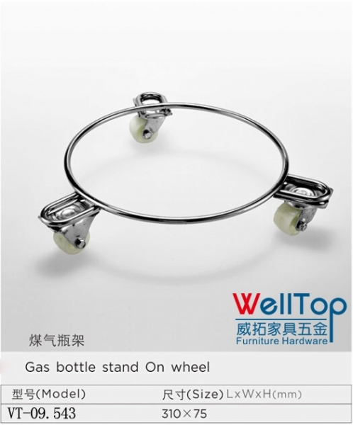 hot sale gas bottle on wheel