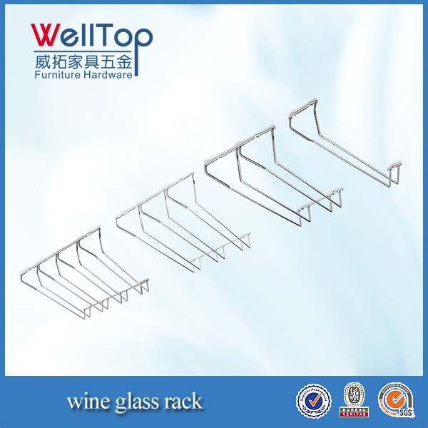 cheap  hanging wine glass rack