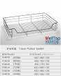 cabinet wire pullout basket