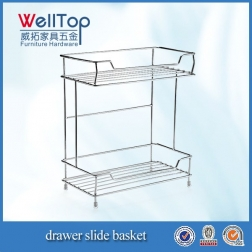 Chrome vertical steel wire kitchen cooking rack