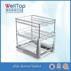 NEW Stainless steel 3 layer basket