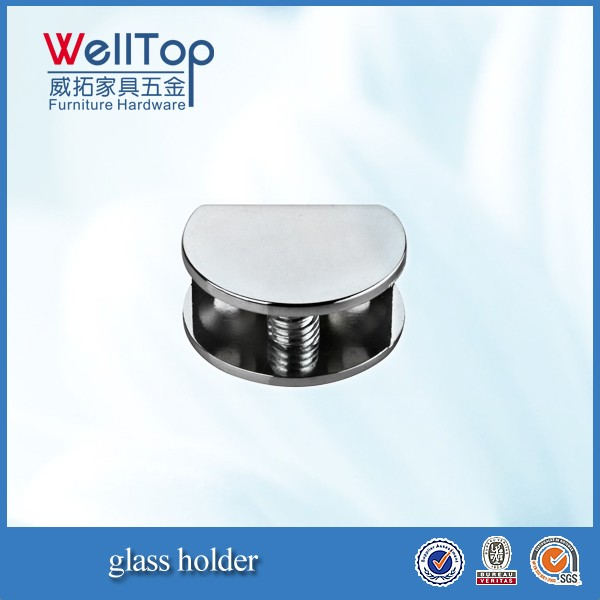 glass clips glass holder for cabinet doors