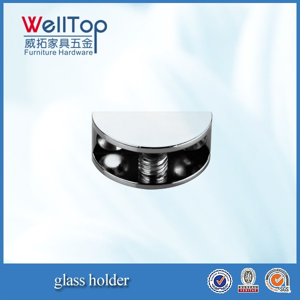glass shelf clamp shelf glass holder