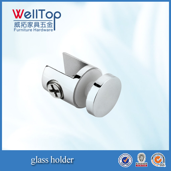zinc alloy glass support