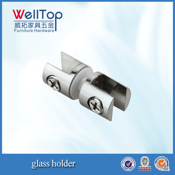 furniture zinc alloy glass support