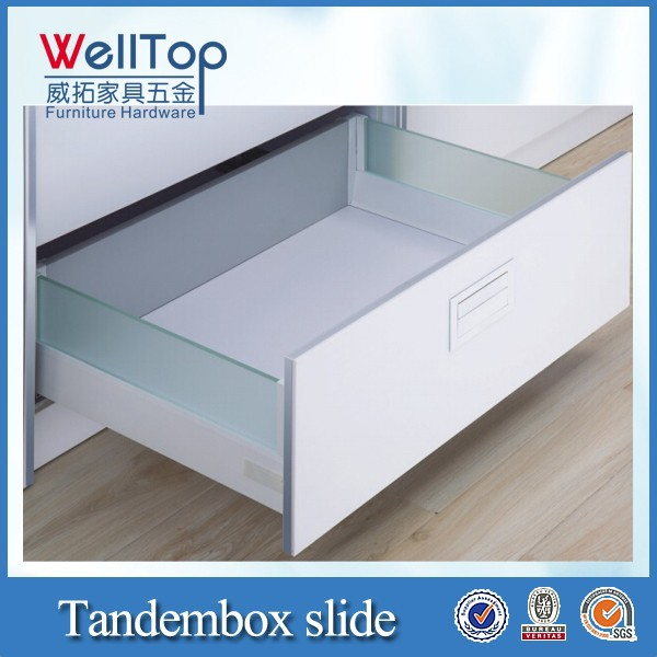 Tandembox kitchen cabinet drawer box
