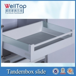 Kitchen cabinet push open tandembox VT-15.018