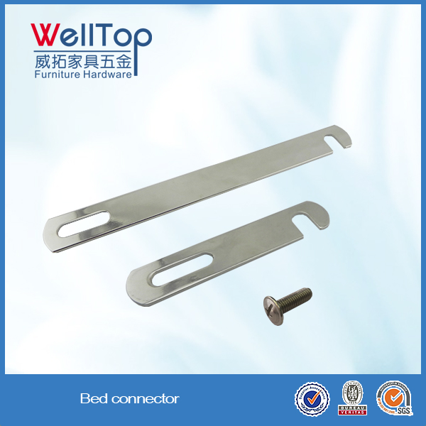 metal bed connector