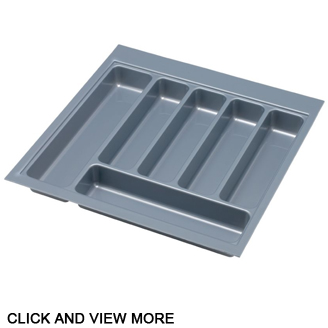 Kitchen cutlery tray