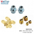 furniture hardware fittings the iron connector nut nails VT-14.098