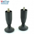 M10 M8 screw plastic furniture sofa bed leg with cup VT-03.082