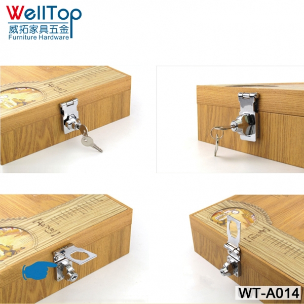 None Drilling Hole Furniture Drawer Locks Alloy Door Lock