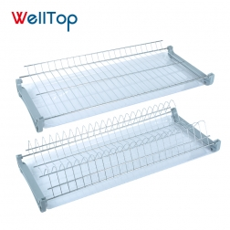 Stainless steel kitchen dish holder rack dish for sale VT-09.001