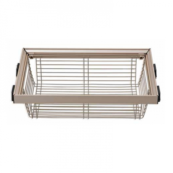 2019 Welltop Metal Wire Hanging Saving Space Easy Mount Storage Under Shelf put out sliding Basket