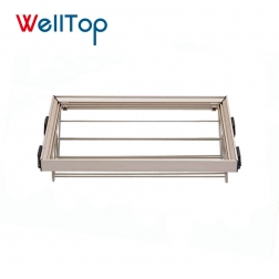 Easy to assemble iron storage rack shoe shelf organizer manufacture VT-10.038