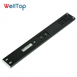 2019 Welltop hardware 45mm Soft close telescopic drawer channel VT-15.007